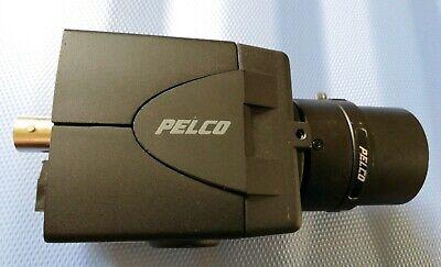 Pelco C10ch-6 Color Ccd Surveillance Video Camera W 3.0-8mm 11.0 13 Cctv Lens