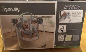 Ingenuity Comfort 2 Go Portable Swing - NEW