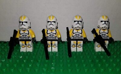Lego Star Wars Custom Clone Troopers 327th Star Corps Battalion 501st 75036 yell - Clone Troopers Lego