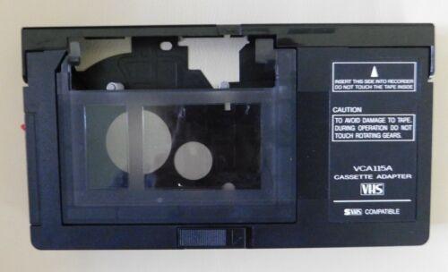 VHS cassette adapter VCA115A - SVHS compatible