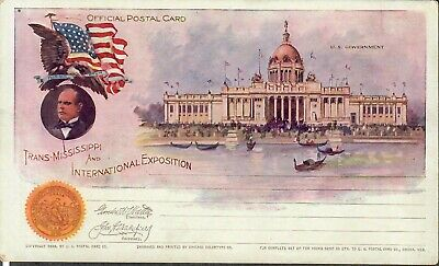 Trans-Mississippi And International Exposition Postcard U.S. Government