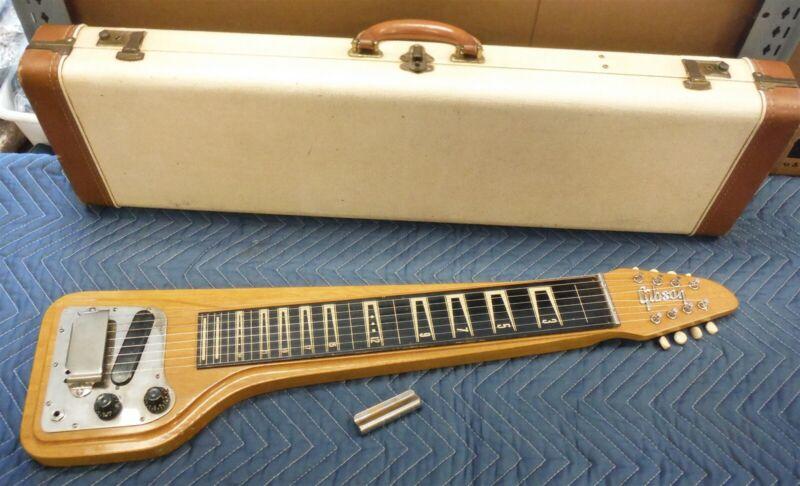 Gibson SkyLark 8 String RH Steel Lap Guitar Hard Case Late 50