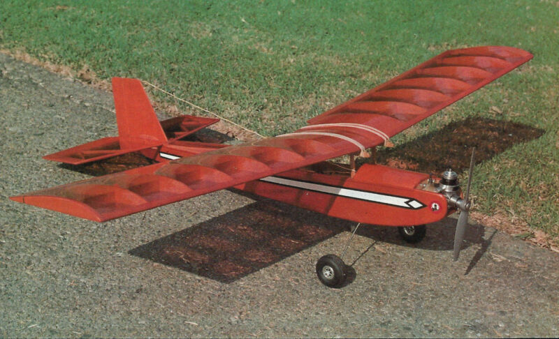 Q-Tee Sport / Trainer Plane Plans, Templates and Instructions 36ws