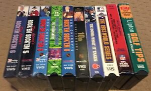 Don Cherry Rockem Sockem VHS Tapes