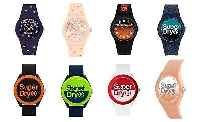 Genuine Superdry Urban / Osaka Unisex Silicone Strap Watch - Choice of Colours