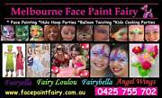 Face Painting FREE Balloon Twisting Kids Entertainment Party Host Melbourne CBD Melbourne City Preview