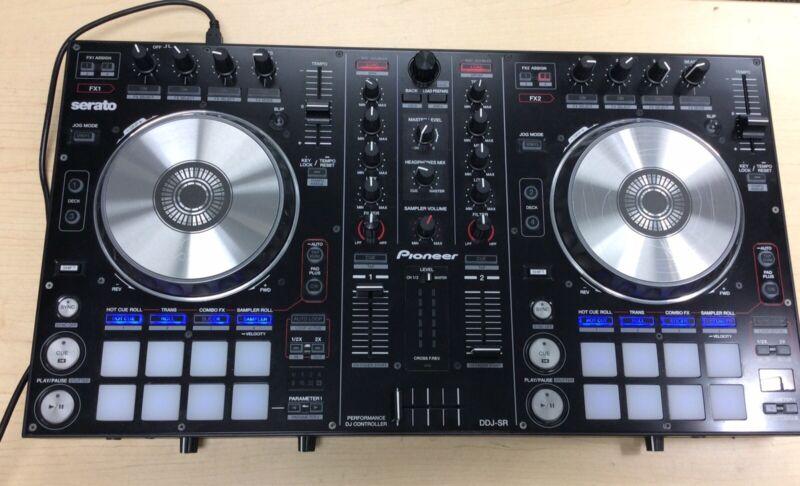 Pioneer DDJ-SR 2 Channel Professional Digital DJ Controller For Serato FREE S/H!