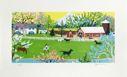 """Kay Ameche """"mt Shasta"""" 1980 