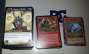 World of Warcraft, Magic the Gathering and Yu Gi Oh CARDS