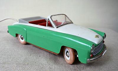 alter PKW Wartburg 311 Cabrio mit Fernlenkung - PRESU DDR 1960-62 (137-17)