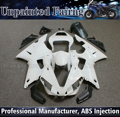 Fairings Kit for Yamaha YZF R1 2000 2001 00 01 Unpainted ABS Injection Body Work
