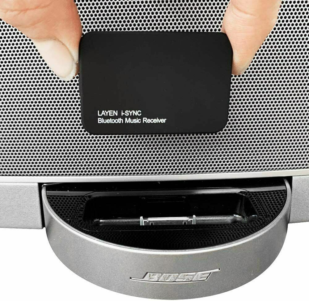 LAYEN i-SYNC Bluetooth Adapter Audio Receiver Dongle for Hi-Fi Stereos and Dock