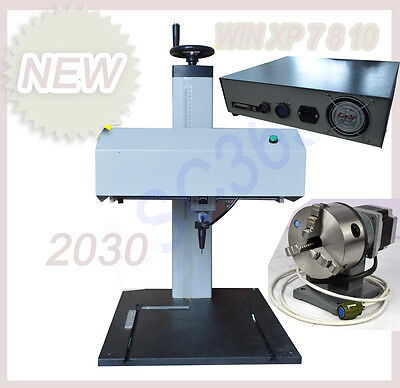 Metal Marking Pneumatic Marking Machine 2030 110v With Rotary Tool