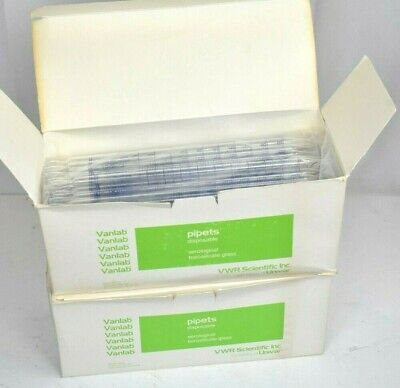 Pyrex 10 Ml In 110 Non-sterile Serological Pipets Pipettes Bulk Qty 240