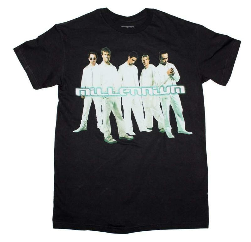 Backstreet Boys Cut Out Millennium T-Shirt New Black