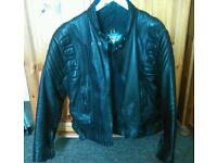 Atiko leather jacket and trousers