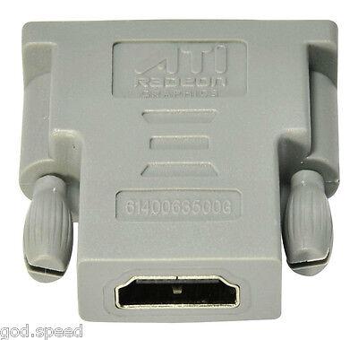Diamond Powercolor Sapphire Visiontek Xfx Amd Ati Video Card Dvi To Hdmi Adapter