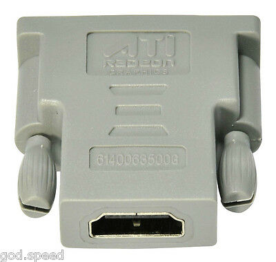 Asus Msi Force3d Biostar Palit Gecube Hp Amd Ati Video Card Dvi To Hdmi Adapter