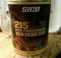 Teinture Sico  opaque patio, cloture, a l'alkide huile