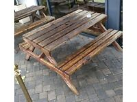 2x Picnic Benches