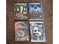 Final Destination 1-2-3-4 All four films. £5