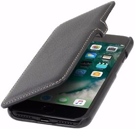iPhone 7 BRAND NEW Stilgut leather flip case - RRP €30 - only sold in Germany