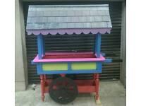 Hand Cart Garden Centre Piece