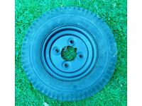 Trailer Wheel for Boat Dinghy Tender