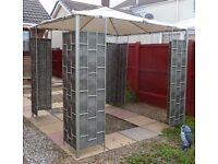 Substantial garden gazebo