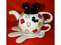 Disney Stacking Teapot, Cup and Saucer set