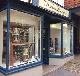 Shop to let on short length term, Marlborough High Street. £15000 per annum, rates free.