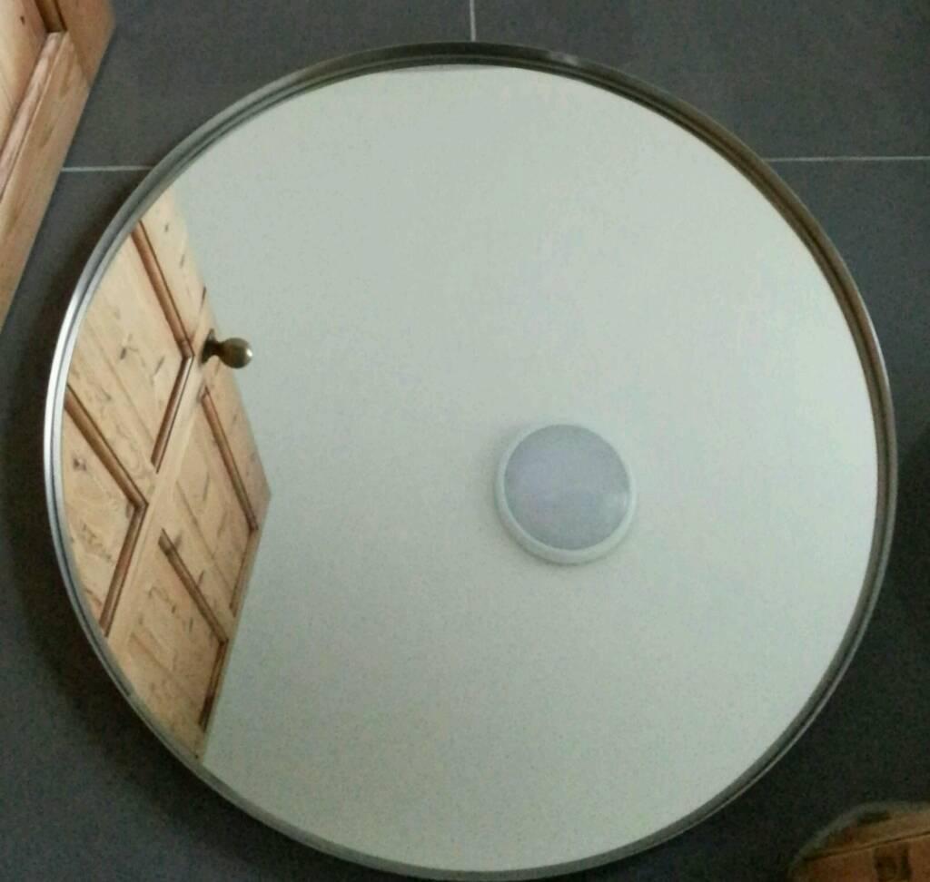 Bathroom Mirror Gumtree ikea 'grundtal' bathroom mirror with stainless steel frame. as new