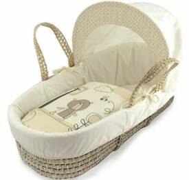 baby moses basket with the stand