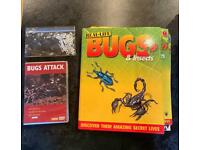 Real-life Bugs & Insects magazines issues 1-69 (Also includes DVD and storage cases for resin bugs)