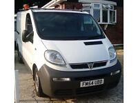 Vauxhall VIVARO 2900 DI SWB 1st REG. 2005 IN GOOD ALL ROUND CONDITION