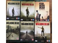 The Walking Dead Seasons 1-5 Plus Fear the walking dead season 1