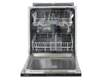 Bosch integrated full size dishwasher