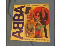 Vinyl record 12 inch - Abba - Lay all your love on me