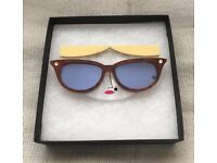 Little Moose 'Faces' Sunglasses Brooch