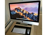 iMac 27' (Mid 2011) 2.7 GHZ Intel Core i5, RAM 8 GB, HDD 1TB