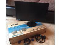 AOC 21.5 LED Monitor E2270Sw