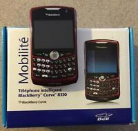 Blackberry Curve with original packaging