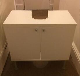 Under sink storage cabinet