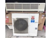 Mitsubishi Electric split AC system - single phase 7.1kw wall mount R410a