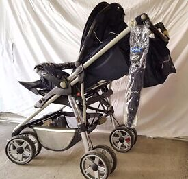 Jane Classic pro multi travel system which includes lie flat car seat