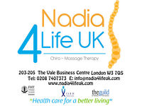 Back & Neck Pain - Nadia4lifeuk - Chiro Massage Therapy Clinic