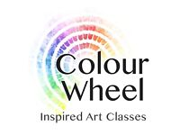ColourWheel Art Class in Romsey