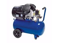 Draper 50L 3hp Air Compressor (230V 2.2kW). RRP £260! UNUSED, AS-NEW WITH WARRANTY!