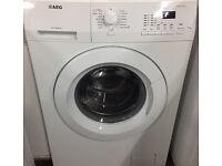 AEG L61270FL 7kg 1200 Spin White LCD Washing Machine 1 YEAR GUARANTEE FREE FITTING
