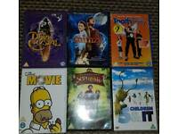 Kids collection of dvds